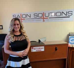 Brittany Master Colorist and Stylist at Salon Solutions